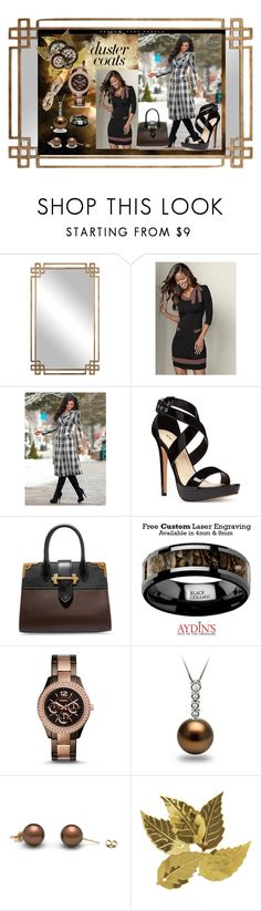 """""""Timeless Duster Coat"""" by aurorasblueheaven ❤ liked on Polyvore featuring Uttermost, Venus, Nine West, Prada, FOSSIL, Darice and DusterCoats"""