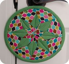 Retro Star Potholder