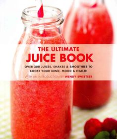 <DIV>With 450 recipes in a whopping 600 pages, this book has so much juicy (and slushy and smoothie) goodness! Drink up from morning till night, with breakfast ideas that go beyond orange juice