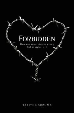 """Forbidden- """"How can something so wrong feel so right""""- I waited a long time to read this book due to the """"taboo"""" subject.  However, the reviews rated so high I had to read.  EXCELLENT writing HEARTBREAKING book."""