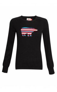 Donna Ida Perfect Moment Nanuk Sweater - Black #skiwear #aw13 #perfectmoment