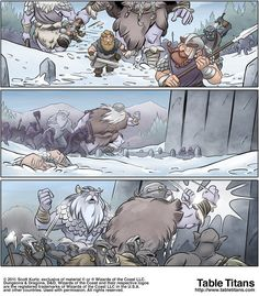 Winter of The Iron Dwarf - Page 107 Dwarf, Iron, Comics, Winter, Table, Anime, Tables, Comic Book, Dwarfism