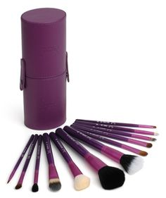 Sigma Beauty - Make Me Crazy Purple 12 Brush Kit    Sigma Beauty:  http://www.sigmabeauty.com/Sigma_12_Brush_kit_Make_me_Crazy_Purple_p/ckc02.htm?Click=58439