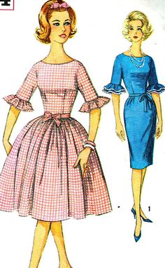 Vintage Sewing Pattern 1960s Simplicity 4254 Mad by paneenjerez, $16.00