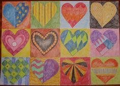 Vzorník srdcí - ukázka