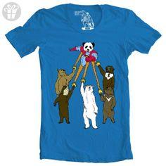 Captain Panda T Shirt Bear Tee Captain Planet Funny Shirts (*Amazon Partner-Link)