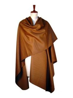 Braunes #Cape aus gewebter #Surialpaka #Wolle