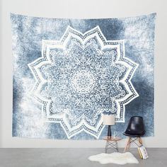 Polyester Tapestry Mandala Bohemian Wall Hanging Blanket Home Decor Curtain Yoga Mat Office Decor Room Divider Beach Mat Furniture Cover Picnic Blanket Sun Canopy Polyester