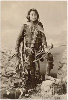 Segundo (the son of Manuelito and Juanita) - Navajo - 1874