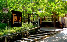 Tucked away in the west section of Griffith Park lies a small rustic cafe called The Trails. Lodged up in the Fern Dell area of this residential meets luscious green walkway, The Trails serves us delicious pies, baked goods, sandwiches, and Stumptown Coffee. It's a (mild) hiker's paradise.