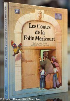 Gripari, Les contes de la Folie Méricourt 피에르 그리파리 Pierre Gripari 는 프랑스 아동문학의 이미지를 전 세계에 심어준 대표적 아동문학 작가입니다. 파리의 어두운 골목길, 소시민의 삶과 현실을 환상과 경이의 단어들로 전혀 새로운 현실로 묘사하는 재주, 거기에 유난히 어린왕자같은 삶을 살았던 작가의 정서가 합쳐져 어른도 아이도 저항하기 힘든 이야기를 만들어냅니다. 특히 이 책 폴리 메리쿠르 이야기는 세계 여러 나라의 전설, 민담, 신화, 종교에 박식한 그리파리 이야기의 넓은 폭을 볼 수 있어서 어른 작가, 문학도들에게도 많은 영감을 주었다는군요. 삽화가 클로드 라푸앙트 Claude Lapointe 의 따뜻한 연필그림이 누구보다 그리파리의 이야기와 잘 어울린다는 평을 받았고, 삼십년이 흐른 후에도 여전히 책페이지들이 세련미를 잃지 않았기에  1983년에 나온 이 앨범이 소장가치를 발휘하는것 같습니다.