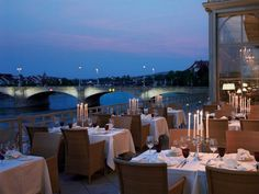 """""""Basel's culture, elegance and rich history is very much reflected in the city's award-winning restaurants"""""""