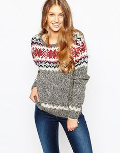 Image 1 of Superdry Embellished Christmas Jumper Womens Christmas Jumper, Christmas Jumpers, Christmas Sweaters, Jumpers For Women, Cardigans For Women, Sequins And Stripes, Superdry, Latest Fashion Clothes, Knitwear