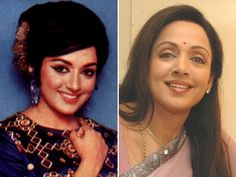Hema Malini: Naturally blessed with grace and beauty, she has what it takes to make a man's heart skip a beat, her playful smile!