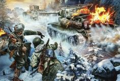 Papéis de parede Soldados Tanque Desenhado Guerra Exercito