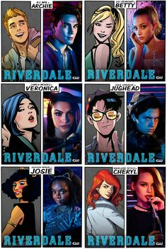 I REALLY LOVE THIS.....ME ONE OF THE BIG FAN OF RIVERDALE AS WELL AS ARCHIE COMICS