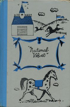 National Velvet.  Written by Enid Bagnold.  Illustrated by Earle B. Winslow.  Junior Deluxe Editions, 1958.