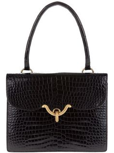 Hermès Vintage crocodile 'vasco' bag