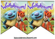 http://daisycelebrates.blogspot.com/2016/04/wallykazam-birthday-party-printable.html