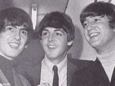 George, Paul and John in Sydney during their 1964 World Tour. Photo by John Howard.