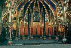 Sainte Chapelle, Paris.  One of my favorite places in all of France.