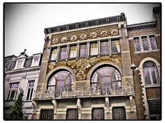 Art Nouveau in Brussels, Belgium