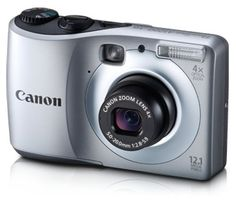 Canon Powershot A1200 12.1 MP Digital Camera with 4x Optical Zoom (Silver) > Price:	$109.00  > Sale:	$77.99 > Click on the image for details and offers.