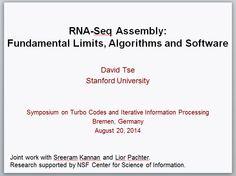 RNA-Seq Assembly – Fundamental Limits, Algorithms and Software   RNA-Seq Blog