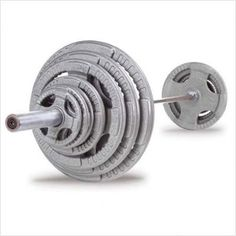 Body Solid OST400S Metal Grip Olympic Plates Set with Included Chrome Olympic Bar and Spring Collars 400. Body-Solid Steel Grip Olympic plates are cast from the highest quality gray iron creating an exceptionally strong and durable product Feature baked on hammertone gray finish that is durable chip and rust resistant Heavy lifting has never been easier .