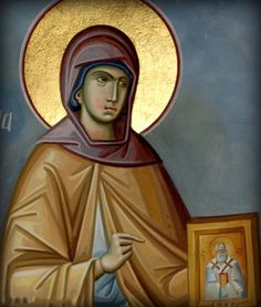 St. Nonna of Nazianzus: her husband and three children (including Gregory) all became saints as well.