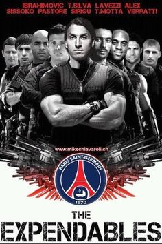 PSG the Expendables