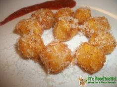 These Fried Cheese Balls were amazing last night during the Super Bowl!