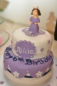 Sofia inspired birthday cake Product Catalogue, Birthday Cake, Inspired, Desserts, Food, Tailgate Desserts, Birthday Cakes, Meal, Dessert