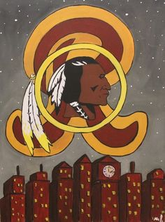 Redskins art