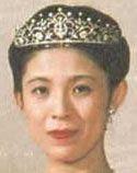 Tiara Mania: Pearl & Diamond Tiara worn by Princess Takamado