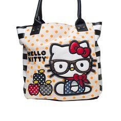 I love the Hello Kitty Nerd Apple Tote from LittleBlackBag