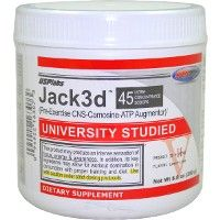 USP Labs: Jack3D / Jacked 250 g Retail Price: $42.99 You save: 31% Our Price: $29.65  Like having tons of energy, strength, stamina and endurance for your workouts? Who doesn't? There's nothing like the right combination of compounds taken pre-workout to deliver consistently mind-blowing workouts to help you achieve your goals.  Jack3d is easily the most intense pre-workout product you will ever want to use again. Most importantly you will feel great throughout your entire workout.