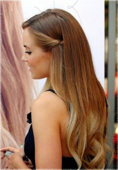 Half Up Half Down Hairstyles Lauren Conrad
