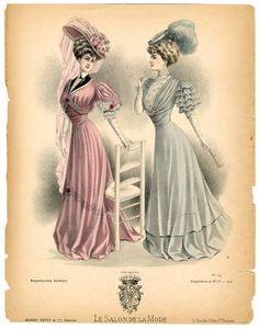 1902-1909, Plate 049 :: Costume Institute Fashion Plates:  1906