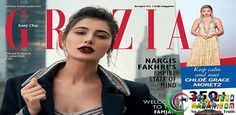 NARGIS FAKHRI DEFINES SUBTLETY AND SENSUALITY ON GRAZIA COVER  #Bollywoodnazar #NargisFakhri