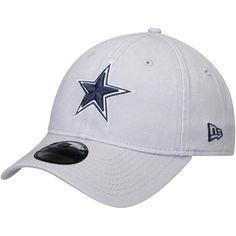a1ad595b4c7 Dallas Cowboys New Era Team Logo Core Classic Twill 9TWENTY Adjustable Hat  – Gray
