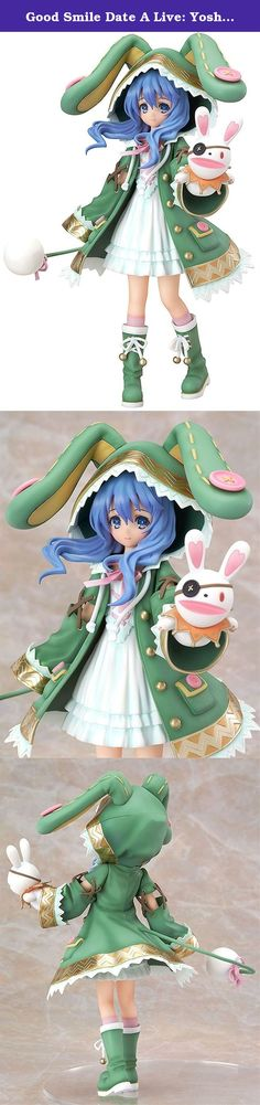 """Good Smile Date A Live: Yoshino PVC Figure. Prototype Production Yukio Okumura (poppy puppet) Popular spirit """"Shitsuno"""" appeared as a 1/8 scale figure from the 40th anniversary commemorating Fujimi Shobo anime """"Dating a live"""" with a young girl's appearance! Based on the cover illustration of the original novel 2 volumes, it reproduced thoroughly under the superintendent of the original author, such as the characteristic Isami Mino 's coat and the puppet """"Okayama"""" of the eyepatch rabbit..."""
