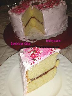 Two Frys: Dominican Cake