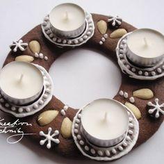 Vánoční perníčky recept a zdobení - Kreativní Techniky Tea Lights, Candles, Advent, Food, Decor, Album, Decoration, Tea Light Candles, Essen