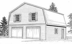 Exclusive High-Quality 2 car Garage plans by Behm design. Available in many sizes and configurations to match your needs.