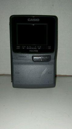 Vintage Casio TV-770 Crystal Vision Color Portable TV #Casio