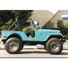 1978 CJ 5 V8- for the hubby to putt to the beach in