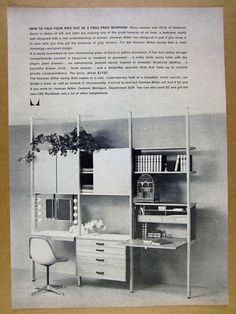 #eames #shellspotting @hermanmiller with George Nelson Storage Wall CSS