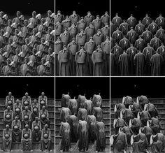 Limage du jour © Misha Gordin, Crowd, 1987-1991