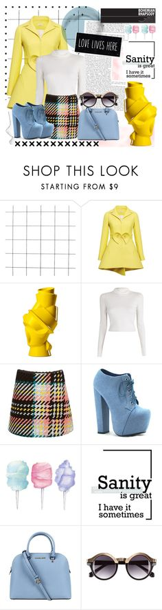 """i feel love (every million miles.) <3"" by tatjana ❤ liked on Polyvore featuring мода, Delpozo, Muuto, A.L.C., Marni, Cotton Candy, Michael Kors и H&M"